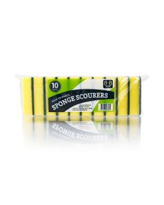 525251 Basic Sponge Scourer Yellow