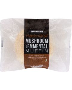 738120 Invisible Chef Mushroom & Emmental Cheese Muffin - 12x126g
