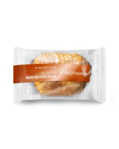 881940 Delifrance Individually Wrapped All Butter Pain Au Chocolate