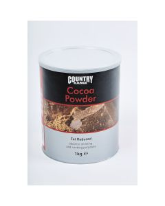 245250 Country Range Reduced Fat Cocoa Powder