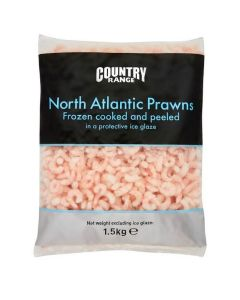 736280 Country Range North Atlantic Prawns 150/250 - 5x1.5kg