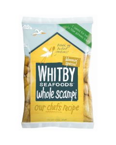 736431 Whitby Seafoods Breaded Scampi - 450g