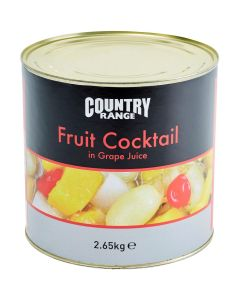 1081720 Country Range Fruit Cocktail in Juice - 6x2.6kg