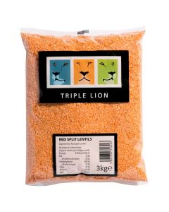 154650 xx Triple Lion Red Split Lentils