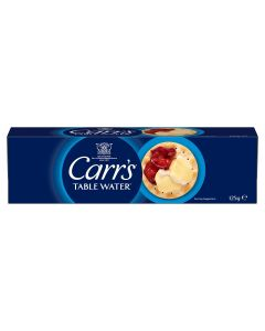 303390 Carr's Table Water Biscuits - 24x125g