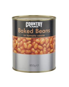 1050740 Country Range Baked Beans In Tomato Sauce 850g