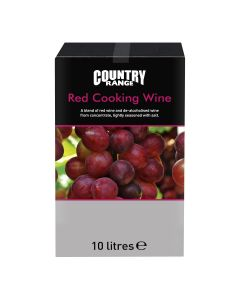 410190 Country Range Red Cooking Wine (10 Litre)