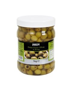 203040 Country Range Green Olives (Pitted) in Brine