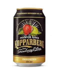 412240 Koppaberg Strawberry Lime Cider (can)
