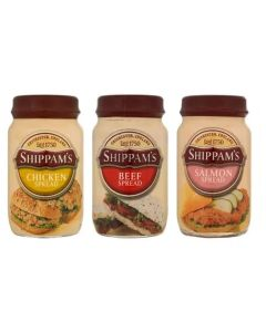 233060 Shippams Assorted Spreads (Glass)
