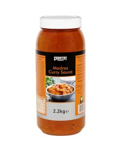 1065450 Country Range Madras Curry Sauce - 2x2.2kg