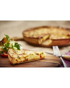 815180 Country Range Mediterranean Vegetable Quiche Uncut