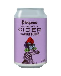 416330 Bensons Mixed Berry Cider (can)