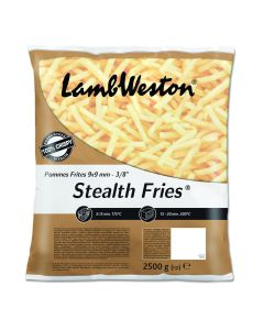 751010 Lamb Weston Stealth Fries 9x9mm Skin Off