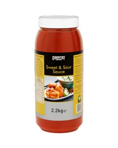 1065411 Country Range Sweet & Sour Sauce - 2.2kg