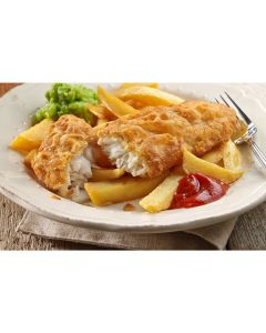 730680 Young's MSC Small Battered Cod Fillets Skinless & Boneless