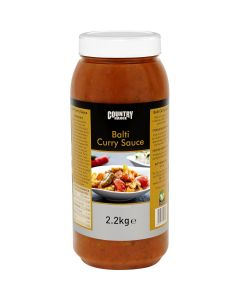 1065430 Country Range Balti Curry Sauce - 2x2.2kg