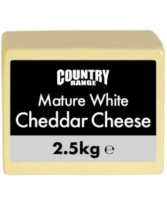 357620 Country Range Mature Cheddar Cheese Block - ave 2.37kg