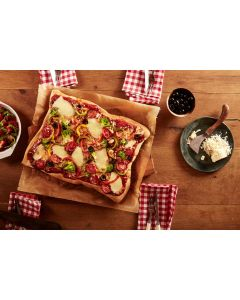 786050 15x11 inch Wholemeal Pizza Base - 12x520g