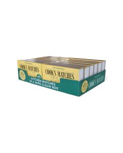 367110 Cook's Household Safety Matches (3X12 Boxes)