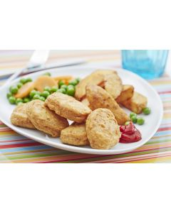 723941 Country Range Battered Chicken Breast Nuggets - 1kg