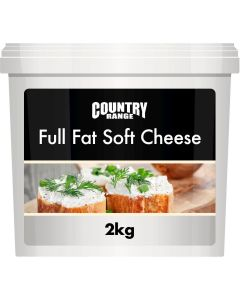 360210 Country Range Full Fat Soft Cheese - 2kg