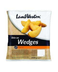 752050 Lamb Weston Skin On Wedges 3.5% Fat
