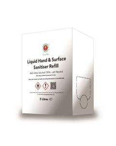 514100 Gourmet Classic Liquid Hand and Surface Sanitiser BIB